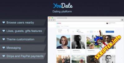 YouDate v1.6 Rus - скрипт сайта знакомств