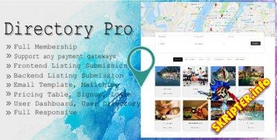 Directory Pro v2.0.8 Rus - плагин каталога для WordPress