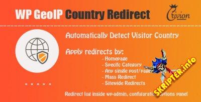 WP GeoIP Country Redirect v3.4 - плагин редиректа для WordPress