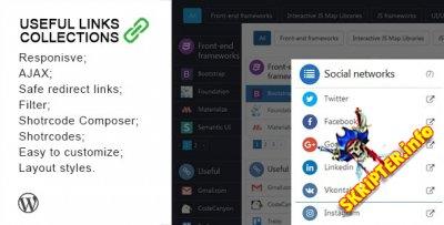Useful Links Collections v1.3.1 - каталог полезных ссылок WordPress