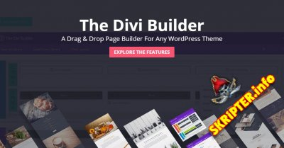 Divi Builder v4.6.5 Rus – Drag & Drop конструктор страниц для WordPress