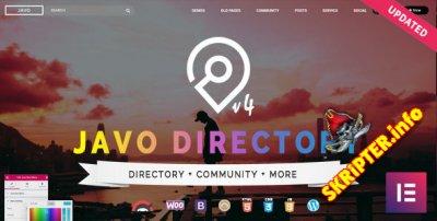 Javo Directory v4.2.2 Nulled - бизнес шаблон для WordPress