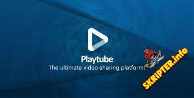 PlayTube v1.8.1 Rus Nulled - скрипт видео портала
