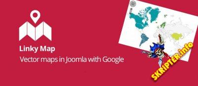 Linky Map v2.3.5 Rus - генератор карт для Joomla