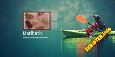 Maribeth v1.0 - CSS3 эффекты наведения на изображения