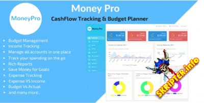 Money Pro v1.2.6 - менеджер денежный средств