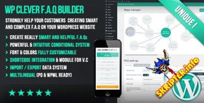 WP Clever FAQ Builder v1.42 – конструктор раздела FAQ для WordPress