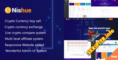 Nishue v1.9 - скрипт биржи криптовалюты