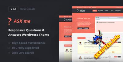 Ask Me v5.9 - шаблон Вопросы & Ответы для WordPress