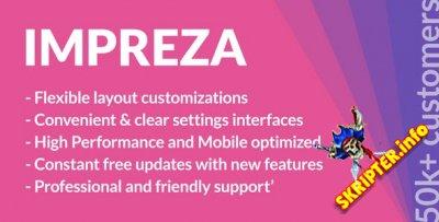 Impreza v6.5 Nulled - многофункциональный шаблон для WordPress