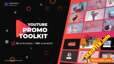 Modern Youtube Promo Toolkit - Project for After Effects (Videohive)