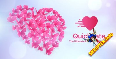 QuickDate v1.4 Nulled - социальный скрипт для знакомств