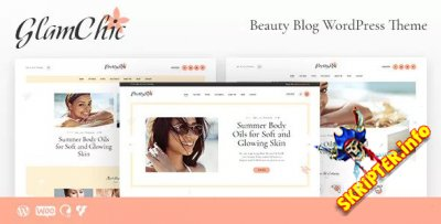 GlamChic v1.0 - тема WordPress для женского сайта