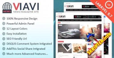 Viavi v1.0.3 - скрипт новостного портала