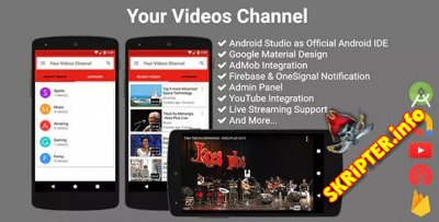 Your Videos Channel v3.2.0 - канал видео на платформе Android