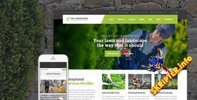 The Landscaper v3.0.1 - ландшафтный дизайн WordPress тема