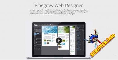 Pinegrow Web Editor v5.2 - программа для создания макетов сайтов