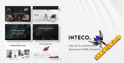 Inteco v1.0 - интерьер и архитектура HTML-шаблон
