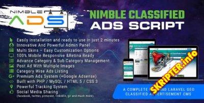 Nimble Classified Ads Script v1.19 - скрипт доски объявлений