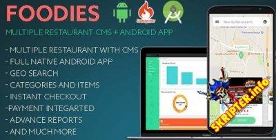 Foodies v1.2 - система управления ресторанами