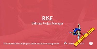 Rise v2.3 Rus Nulled - менеджер проектов