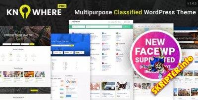 Knowhere Pro v1.4.7 – тема WordPress для каталогов