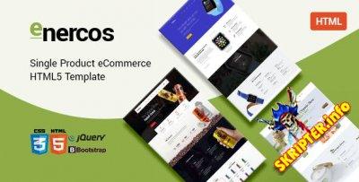 Enercos v1.0 - HTML5 шаблон электронной коммерции