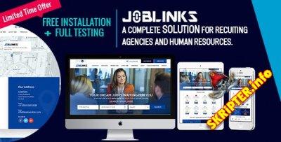 Job Links v1.0 - скрипт поиска работы