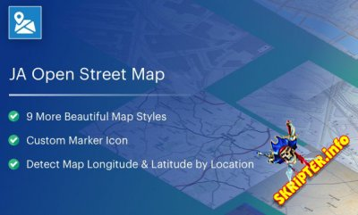 JA Open Street Map v1.1.2 - плагин интеграции карт для Joomla