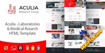 Aculia v1.0 - лаборатория и исследования HTML-шаблон