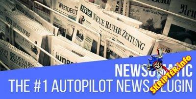 Newsomatic v2.4.2 - автоматический генератор новостей для WordPress