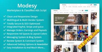 Modesy v1.7 Rus Nulled - скрипт интернет-магазина