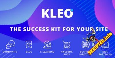 Kleo v4.9.17 Rus Nulled - многофункциональный шаблон для WordPress
