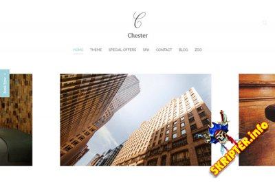 YOO Chester v1.0.4 - универсальный бизнес шаблон для Joomla