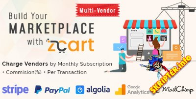 zCart v2.1.4 Nulled - многопользовательская торговая площадка