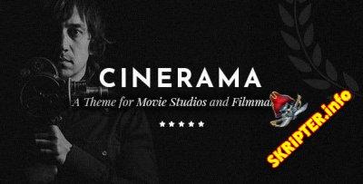 Cinerama v1.3.1 - тема WordPress для киностудий и кинематографистов
