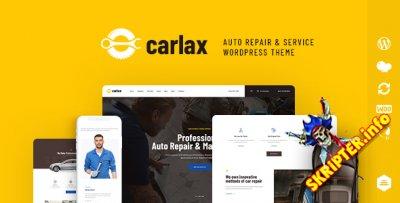 Carlax v1.0.1 - магазин автозапчастей и автосервиса WordPress тема