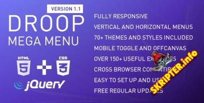 Droop Mega Menu v1.1 - скрипт для создания меню