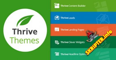 Thrivethemes Plugins Pack 02.2020 Nulled - набор плагинов для WordPress