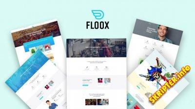 JS Floox v1.7 - бизнес шаблон для Joomla