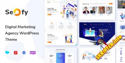 Seofy 1.5.19 Nulled - цифровое маркетинговое агентство WordPress тема