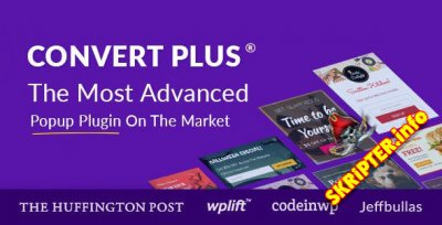 ConvertPlus v3.5.5.1 Nulled – плагин всплывающих окон для WordPress