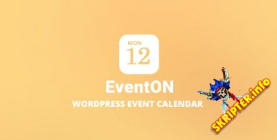 EventOn v2.8 Nulled - календарь событий для WordPress
