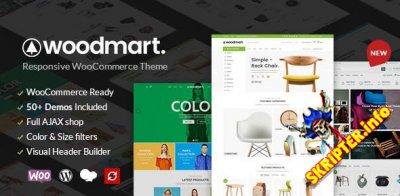 WoodMart v4.2.2 Nulled – тема WordPress для интернет-магазина