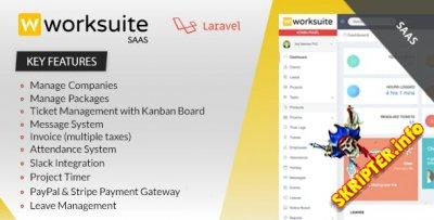 Worksuite Saas v3.4.6 Nulled - система управления проектами