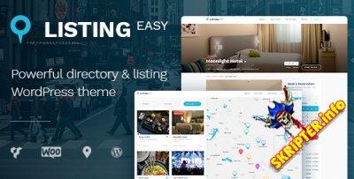 ListingEasy v1.5.8 Nulled – шаблон каталога для WordPress