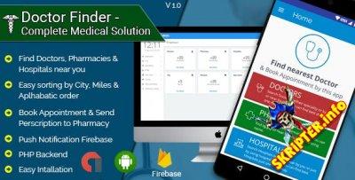 Doctor Finder v1.3 - полное медицинское решение для Android приложения