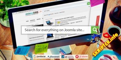 Geek Elasticsearch v3.7.9 - высокопроизводительный и полнотекстовый поиск Joomla