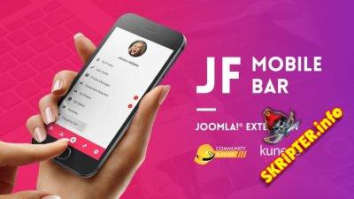 JF Mobile Bar v2.0.2 - навигационный бар для мобильного сайта Joomla