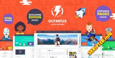 Olympus 11.06.19 - HTML шаблон для социально сети